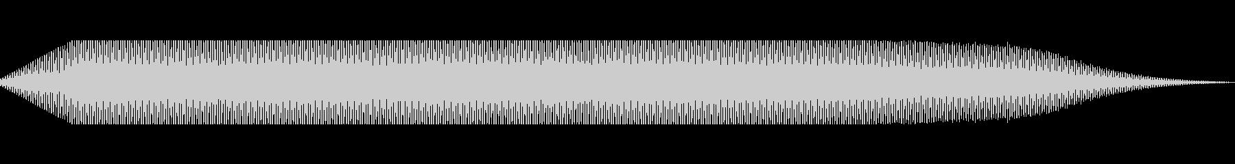 トーン変調高変化の未再生の波形