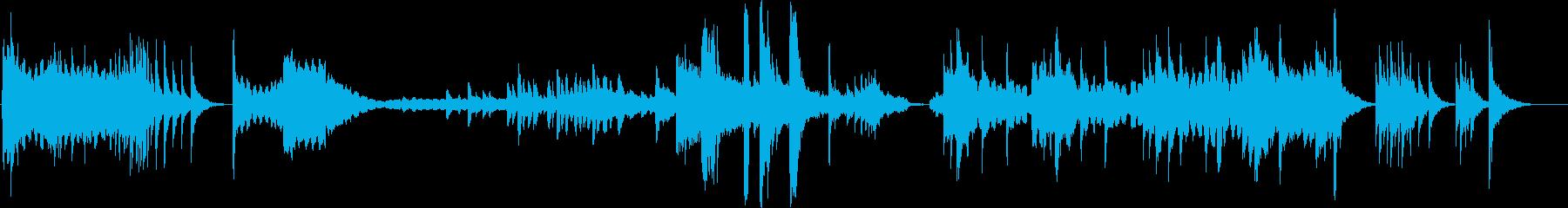 【和風ジングル】尺八・琴・和太鼓・祭りの再生済みの波形