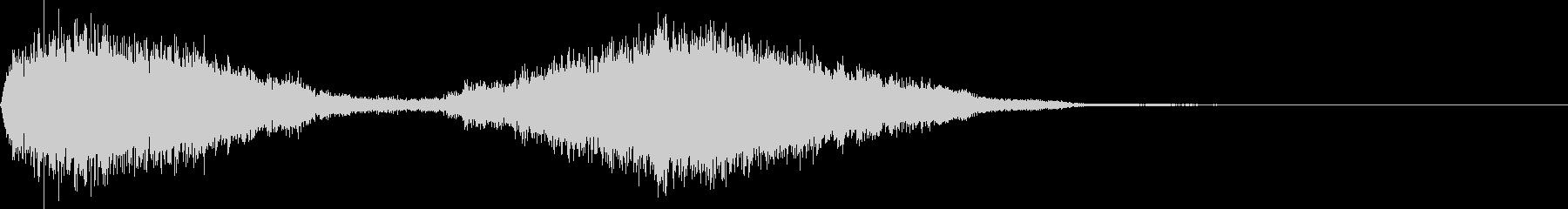 シューッという音EC07_90_4の未再生の波形