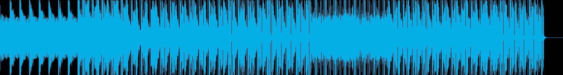 お洒落なピアノインストゥルメントの再生済みの波形