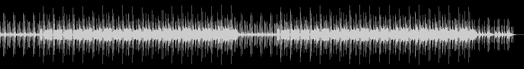おとぼけでコミカルなカートゥーン系の未再生の波形