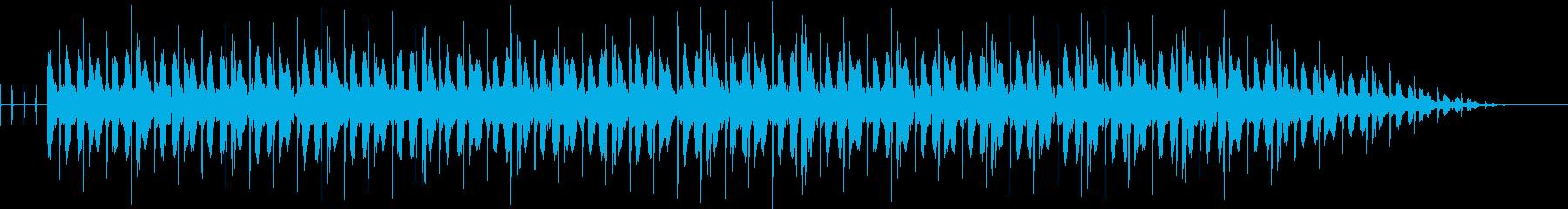 ふわふわ☆8ビート[BELL]シンセの再生済みの波形