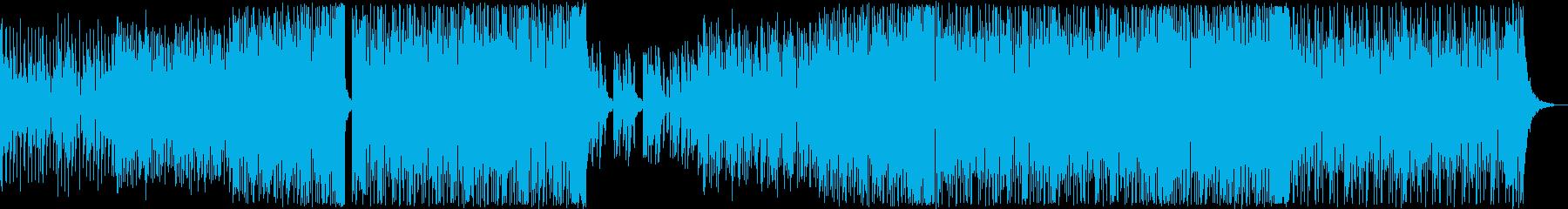 希望/朝/明るい/ハウス_No509の再生済みの波形