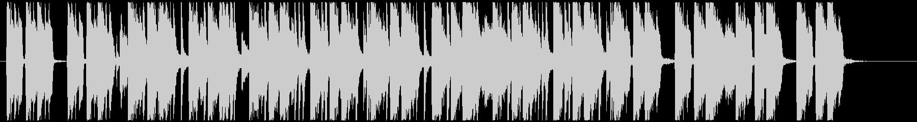 汎用性の高い短いオシャレポップの未再生の波形