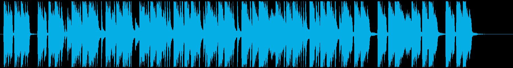 汎用性の高い短いオシャレポップの再生済みの波形