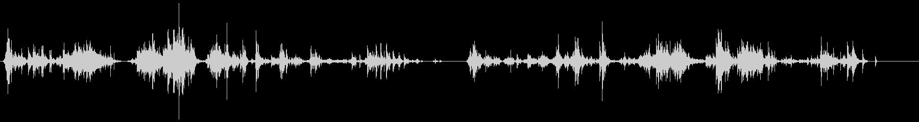 スイーピングスモールセラミックデブ...の未再生の波形