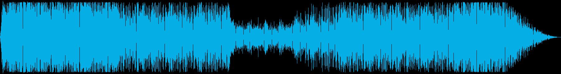 ソウルとDnBを合わせたクールな曲の再生済みの波形