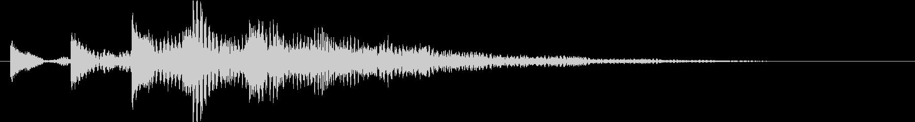 KANT涼しげアイキャッチ09226の未再生の波形