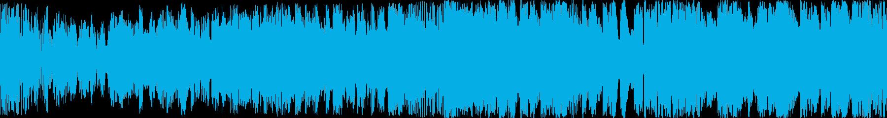 明確なハウスダンスエレクトロニカは...の再生済みの波形