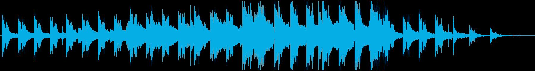 ピアノが印象的なBGM・春をイメージの再生済みの波形