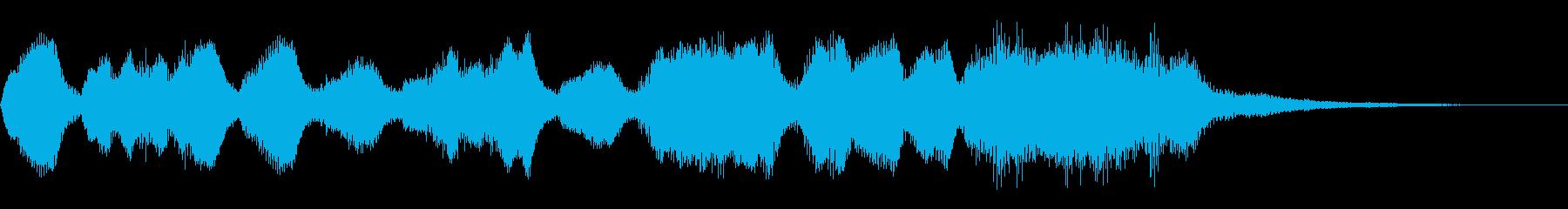 ファンファーレ ゲームクリア 勝利 成功の再生済みの波形