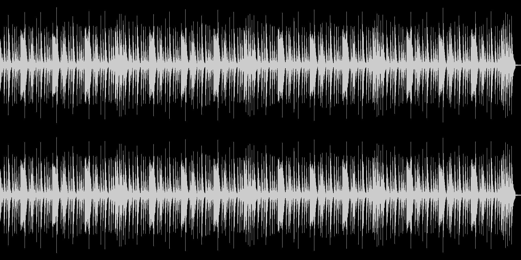 ローファイリズムループの未再生の波形
