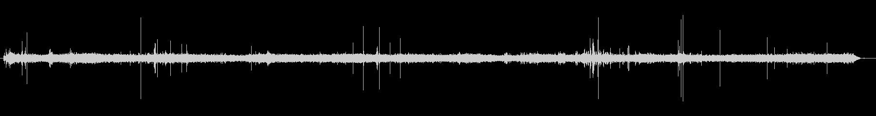 スチームアイロンスプレーアイロンの未再生の波形