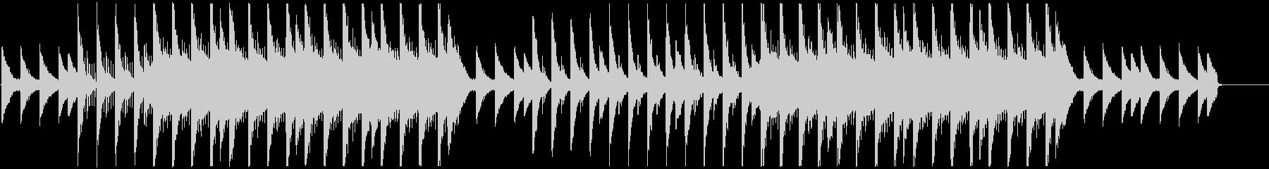 アンビエント、チルアウト系ビートの未再生の波形