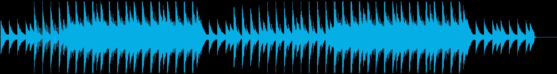 アンビエント、チルアウト系ビートの再生済みの波形