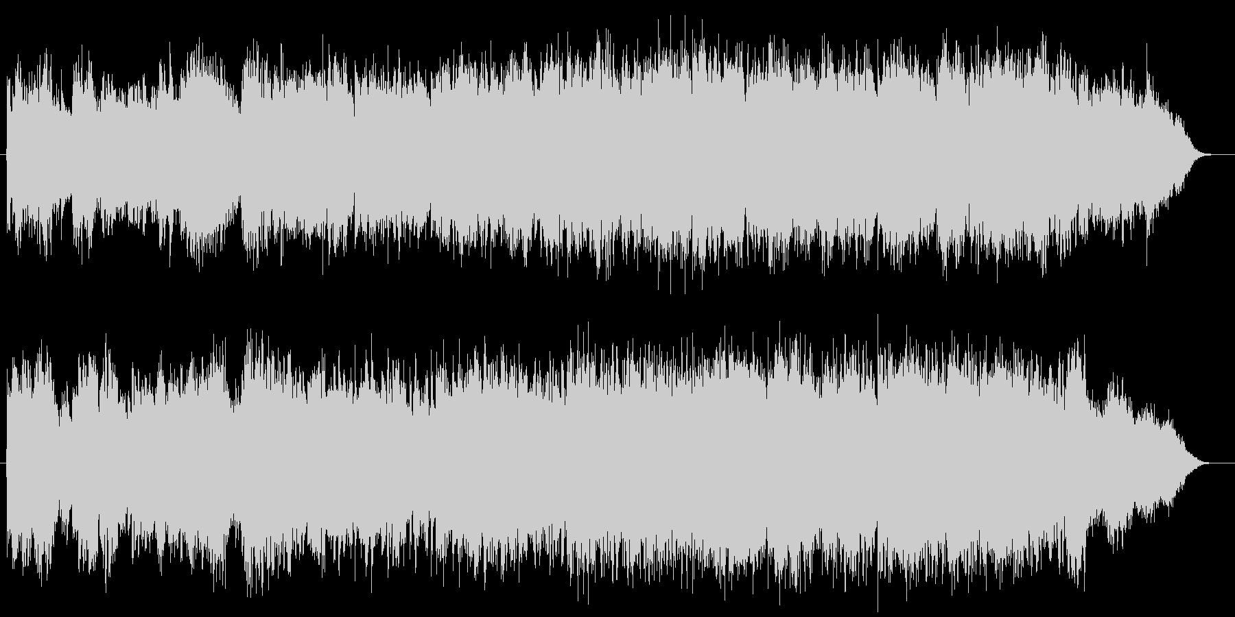 生演奏フルートがゆったりと優しいBGMの未再生の波形