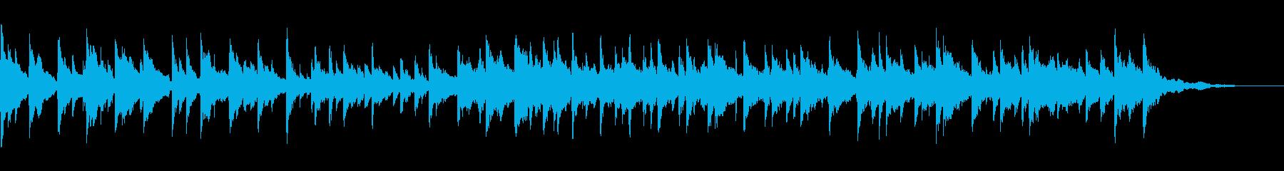 ピアノとアコースティックギターを使...の再生済みの波形