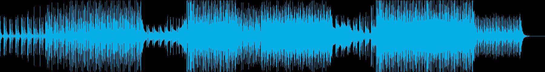 夕暮れ時に合うトロピカルハウスの再生済みの波形