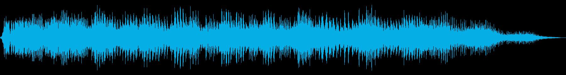 深層のラプチャーの再生済みの波形