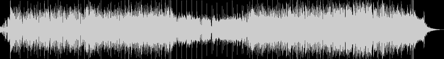 クラシック曲の攻撃的ヒップホップアレンジの未再生の波形