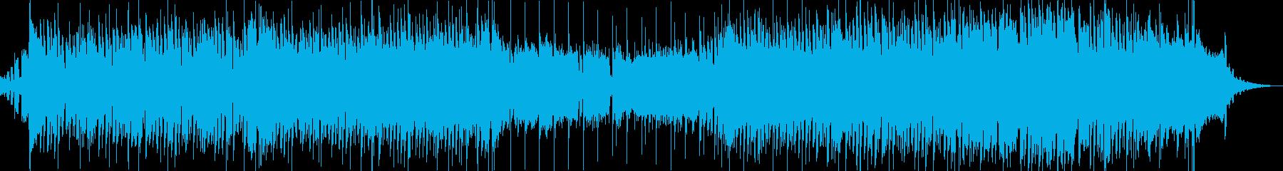 クラシック曲の攻撃的ヒップホップアレンジの再生済みの波形