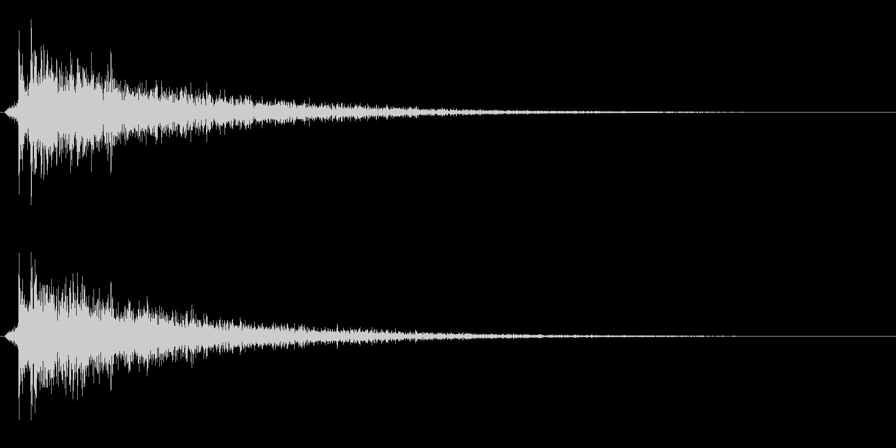 カポーン(お風呂・銭湯・温泉)ノーマル版の未再生の波形