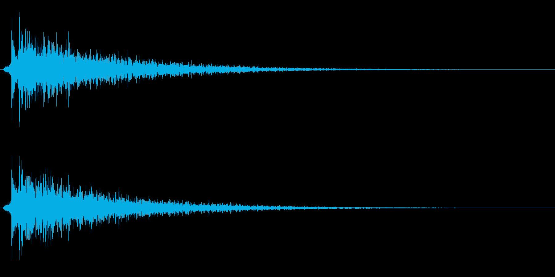 カポーン(お風呂・銭湯・温泉)ノーマル版の再生済みの波形