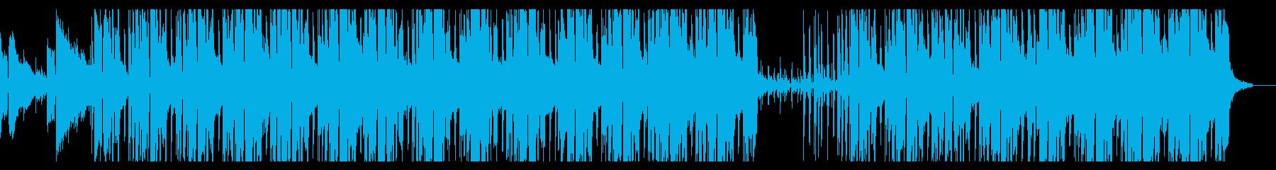 ハードボイルド探偵の夜の聞き込み調査の再生済みの波形