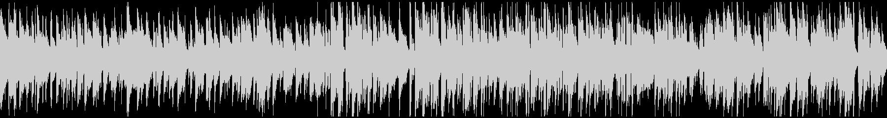 スローテンポなスイングのジャズ※ループ版の未再生の波形