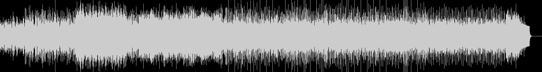 幻想的な曲:木琴 後半から四つ打ちの未再生の波形