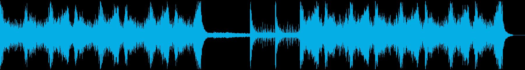 【劇伴】緊迫・ハリウッド・映画の再生済みの波形