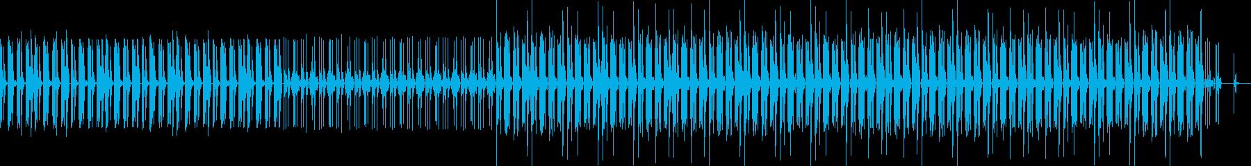ニュージャズ、エレクトロ、インスト...の再生済みの波形