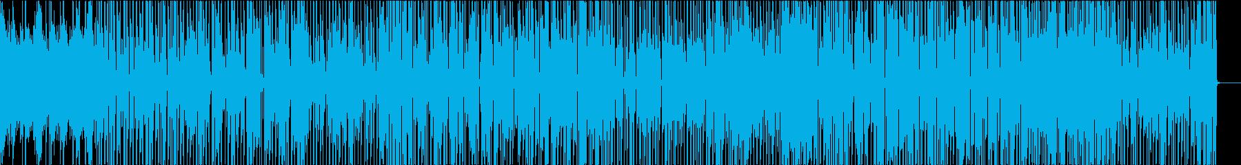 キッズの再生済みの波形