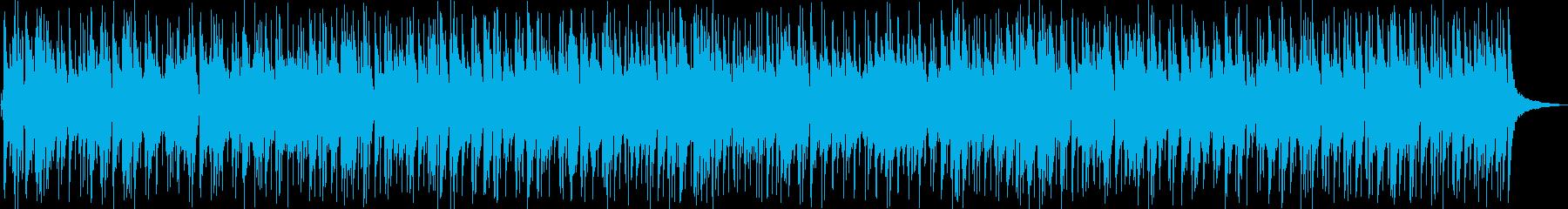 爽やかな風にゆれるマーガレットのイメージの再生済みの波形