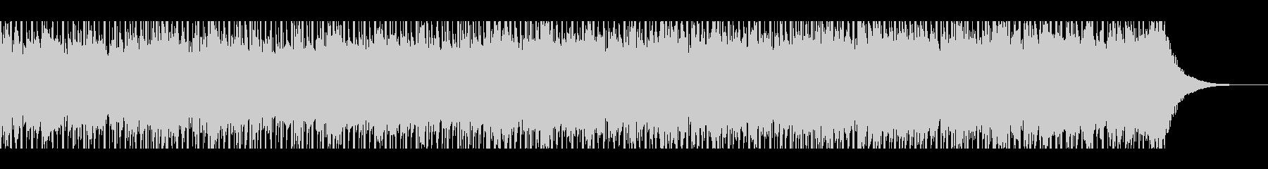 深刻な始まり(60秒)の未再生の波形