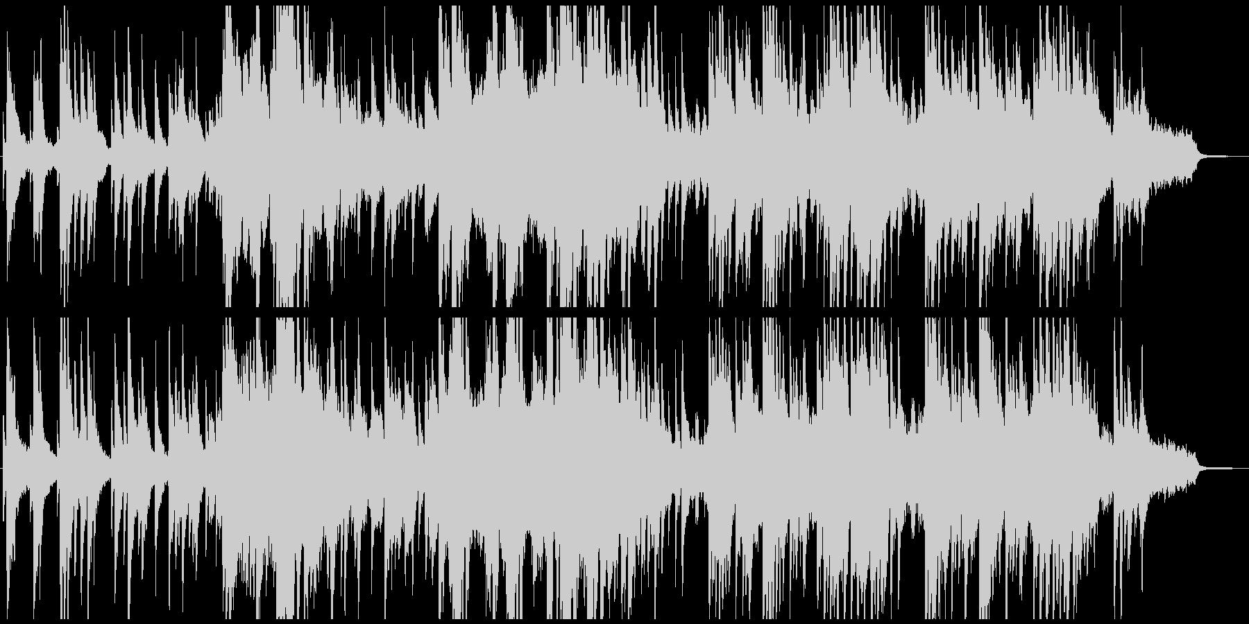 幻想的でとても物悲しい音楽の未再生の波形