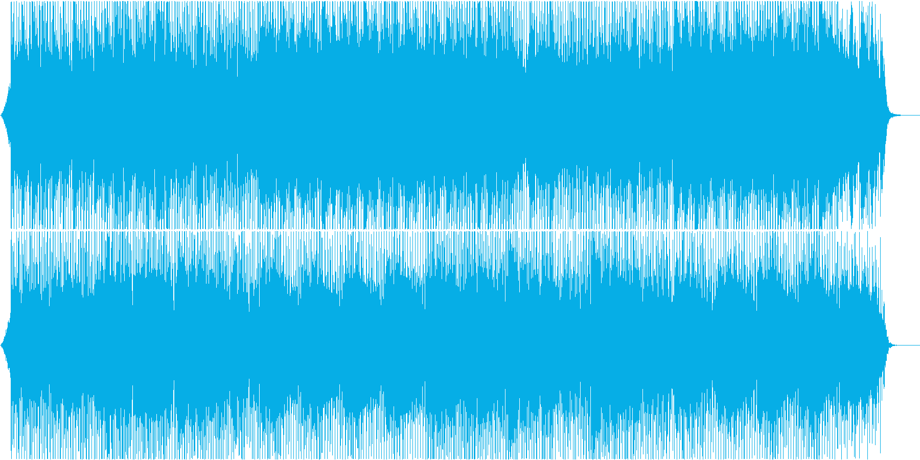 企業VPや映像に 爽快な気持ちになれる曲の再生済みの波形