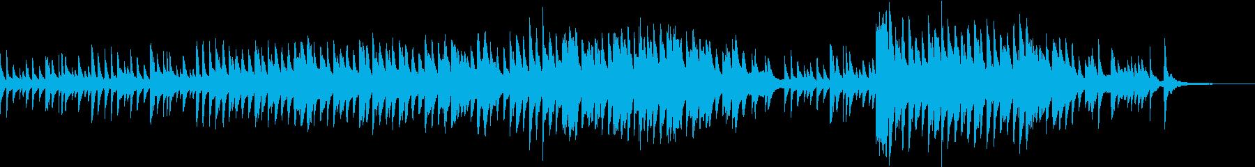 夜道を歩く時に流れるピアノソロ(H)の再生済みの波形