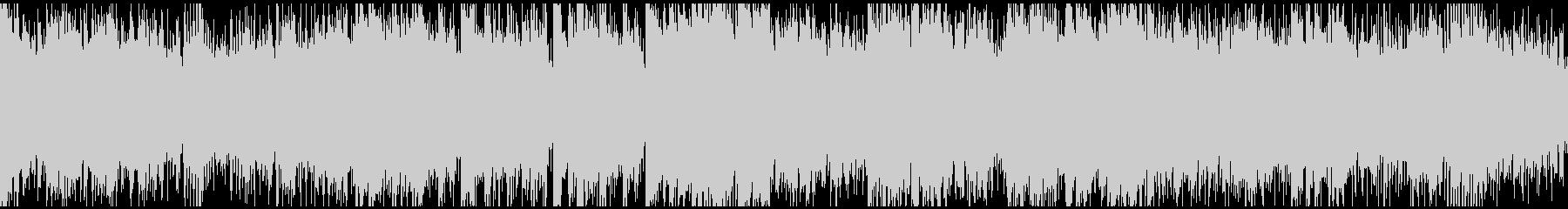 STG系ドラムンベース+ディレイサックスの未再生の波形