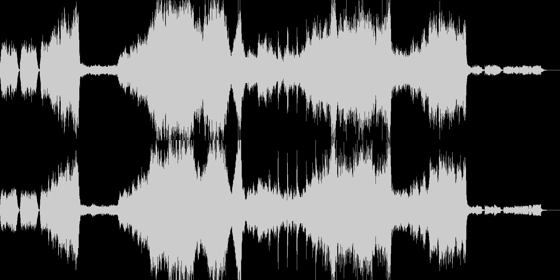 映画音楽 様々な場面で使えるオーケストラの未再生の波形