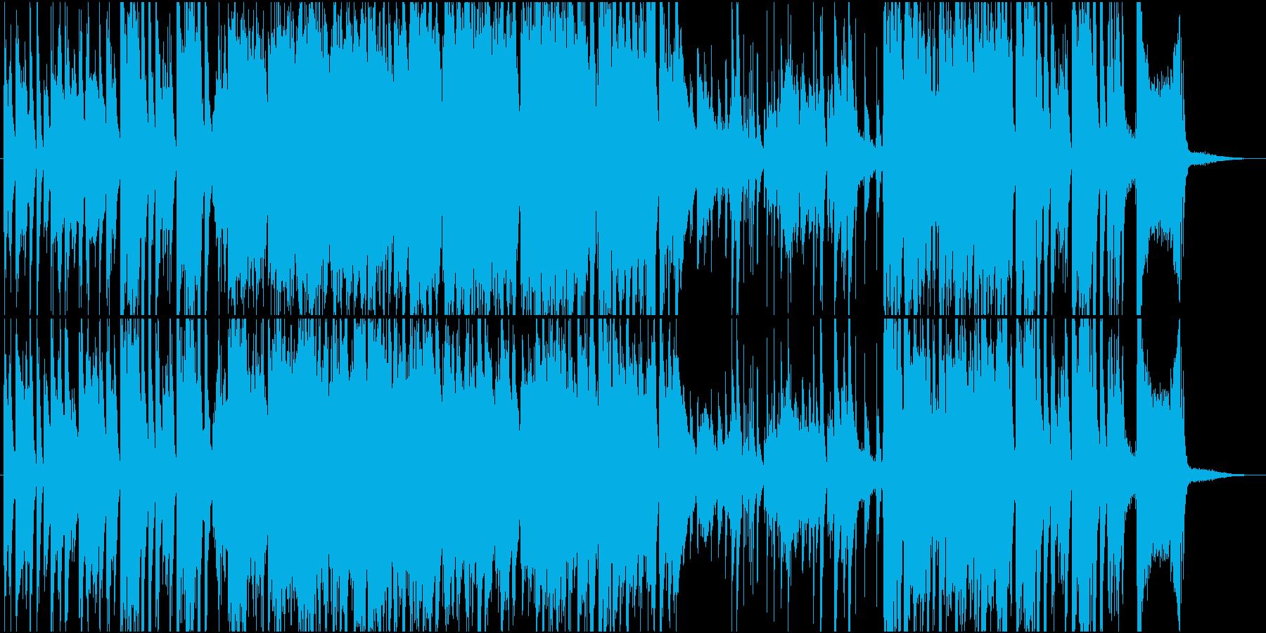 陽気でおしゃれなジャズナンバーの再生済みの波形