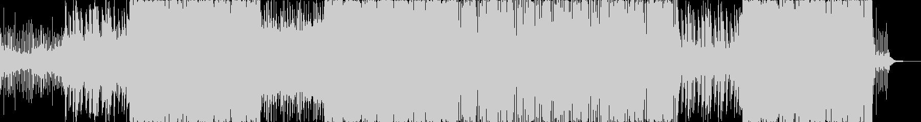 和楽器を使った変拍子ロックの未再生の波形