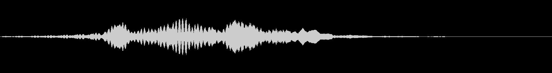 交通2の未再生の波形