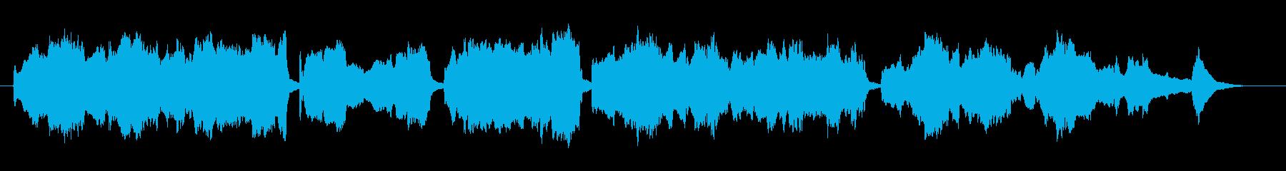 ハープとソプラノ/ブラームスの子守唄の再生済みの波形