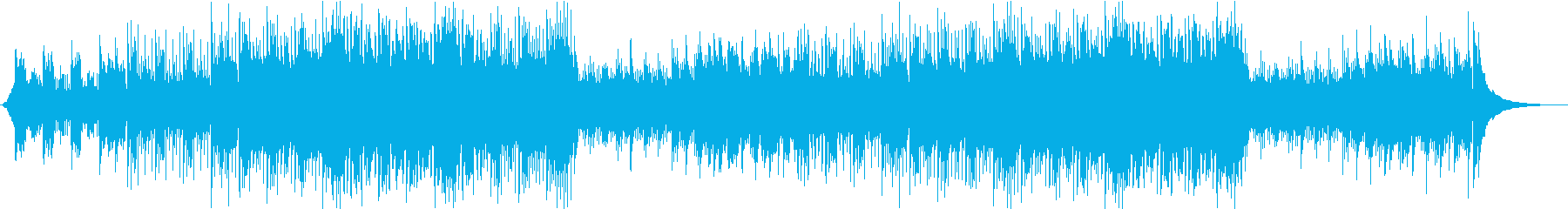爽やか 前向き アコギBGMの再生済みの波形