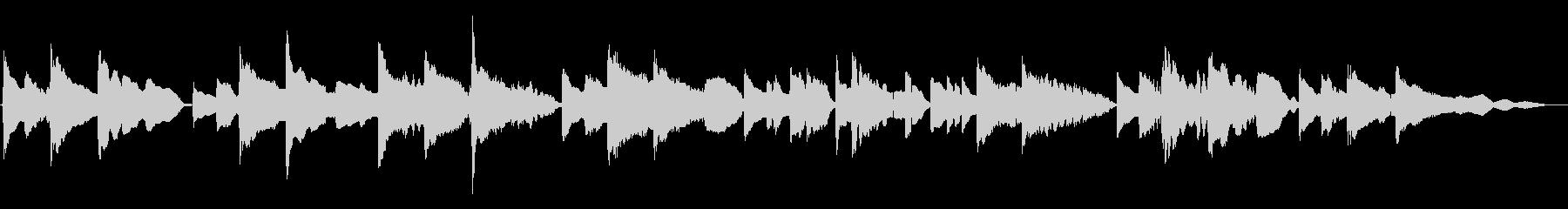 琴線に触れるメロディーのサックス重奏曲の未再生の波形