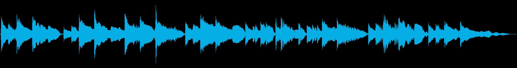 琴線に触れるメロディーのサックス重奏曲の再生済みの波形
