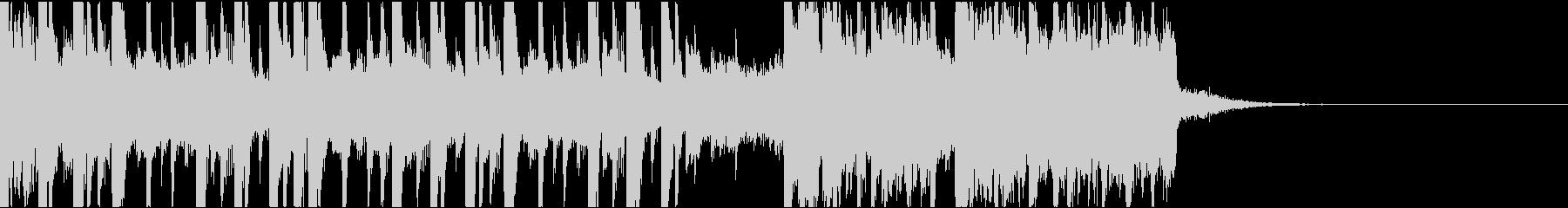 ダークなエレクトロ/ジングルの未再生の波形