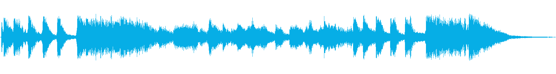 Big band jazz style jingles's reproduced waveform