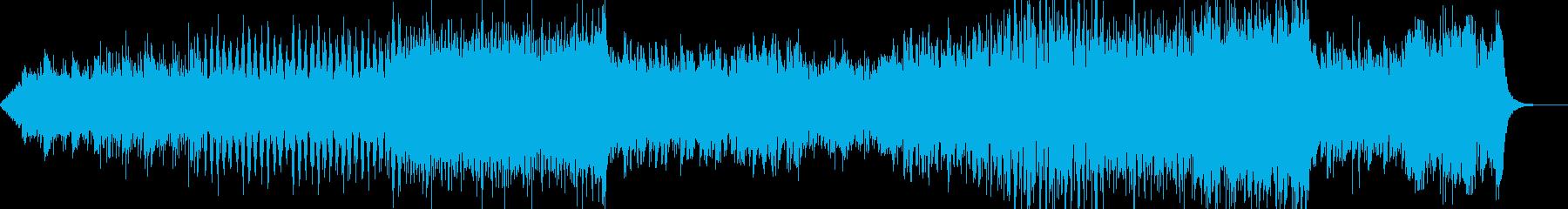 和風ダンスBGMの再生済みの波形